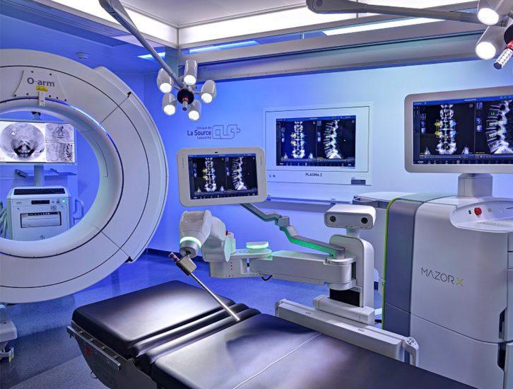 Equipement Centre Neuro Orthopédique Lausanne CNO O-Arm